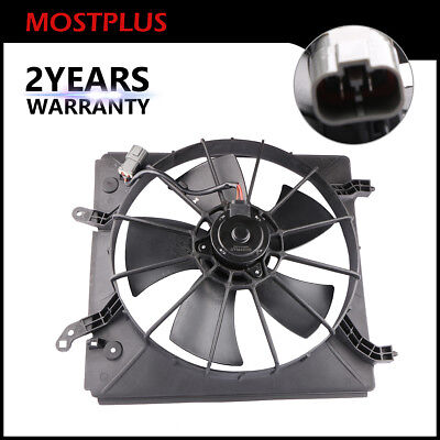 Front LH Side Radiator Cooling Fan Assembly For Honda Accord Acura CL TL - Cl Radiator Fan Assembly
