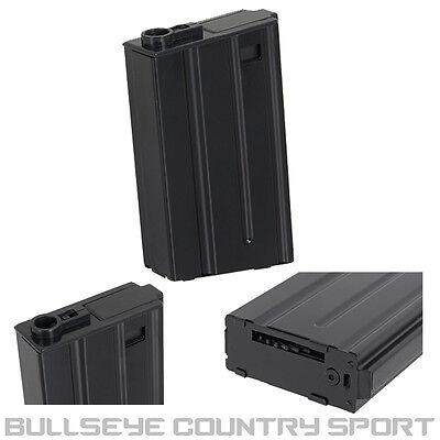 Dboys Airsoft Type 4 Magazine 190 Rd Mid Caps Black Metal 6mm Bb's