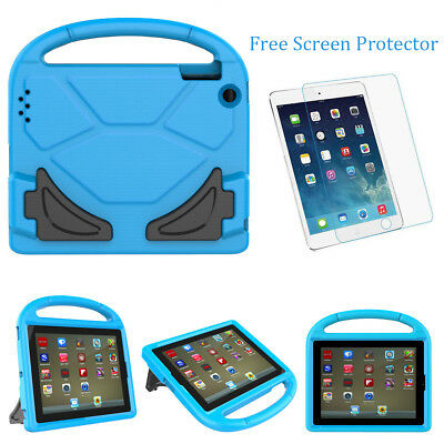 iPad Mini 1 2 3 Case for Kids EVA Shockproof Foam Handle Cover Stand for Apple
