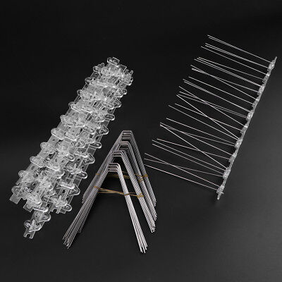 2.5M PC Plastic Bird and Pigeon Spikes Anti Bird for Get Rid of Pigeons Birds