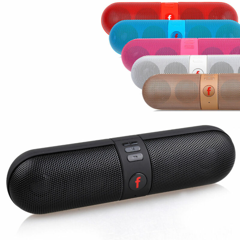 Portable Shockproof FM Stereo Wireless Bluetooth Speaker For Smartphone tablet
