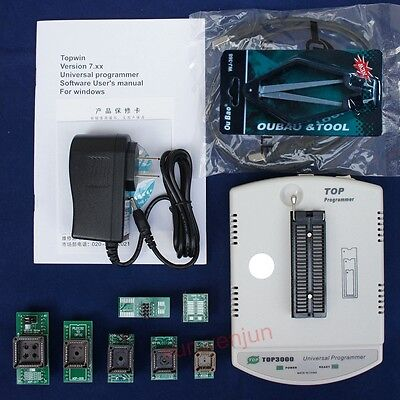 Top3000 Usb Universal Programmer Bois Eprom Flash Mcu Pic Stc Sst 932425 Spi
