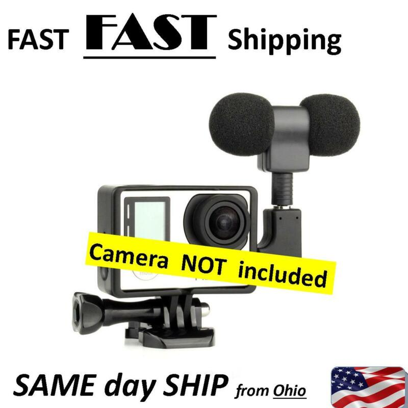 BLOG camera microphone - stereo mic for GoPro