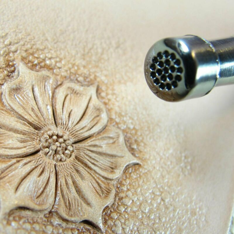 Pro Crafters Series - Small Cluster Flower Center Stamp (Leather Stamping Tool)