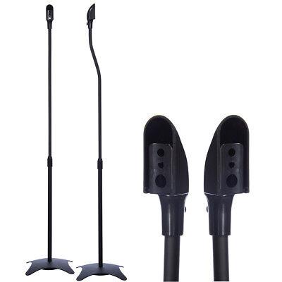 Lautsprecher-ständer (1 Paar Boxenständer SCHWARZ Lautsprecher Standfuss Boxen Stativ Ständer Halter)
