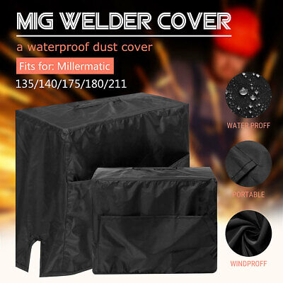 Mig Welder Cover Waterproof For Millermatic 135140175180211 472837cm
