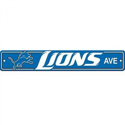 Detroit Lions Ave Street Sign 4