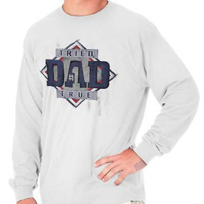 Worlds Greatest Dad 1st Fathers Day Gifts Ideas Daddy Long Sleeve T-Shirt 1 Dad Long Sleeve T-shirt