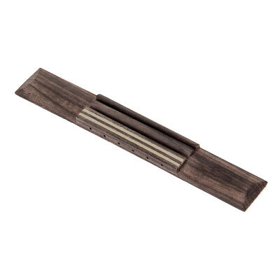 6 String Guitar Bridge for Classical Acoustic Guitar Parts Slotted