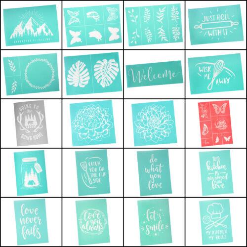 Craft County Self-Adhesive Silk Screen Printing Mesh Transfer - Shirt DIY Decor