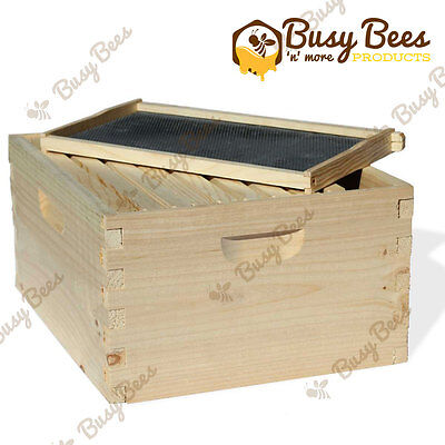Langstroth Bee Hive 10 Frame Deep Box w/ Frames and Foundations