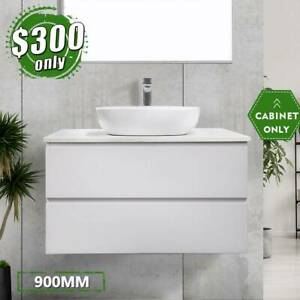 *CLEARANCE* Wall Hung Bathroom Cabinet 2pack 900mm Vanity Mia