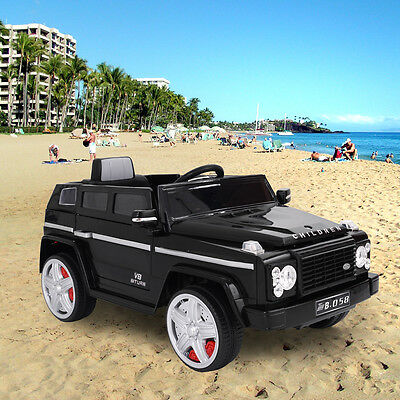 12V Kids Ride On Car Battery Electric Power Truck Wheels RC MP3 w/Remote Control