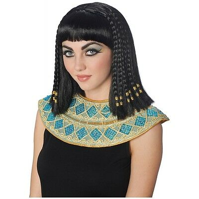 Cleopatra Wig Adult Egyptian Costume Halloween Fancy Dress - Cleopatra Adult Halloween Costume