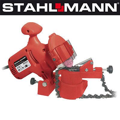 STAHLMANN Kettenschärfgerät Kettenschärfer 220W + Ersatzscheibe !