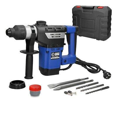 Set martillo eléctrico perforador +cincel puntiagudo+cubierte polvo+cincel plano