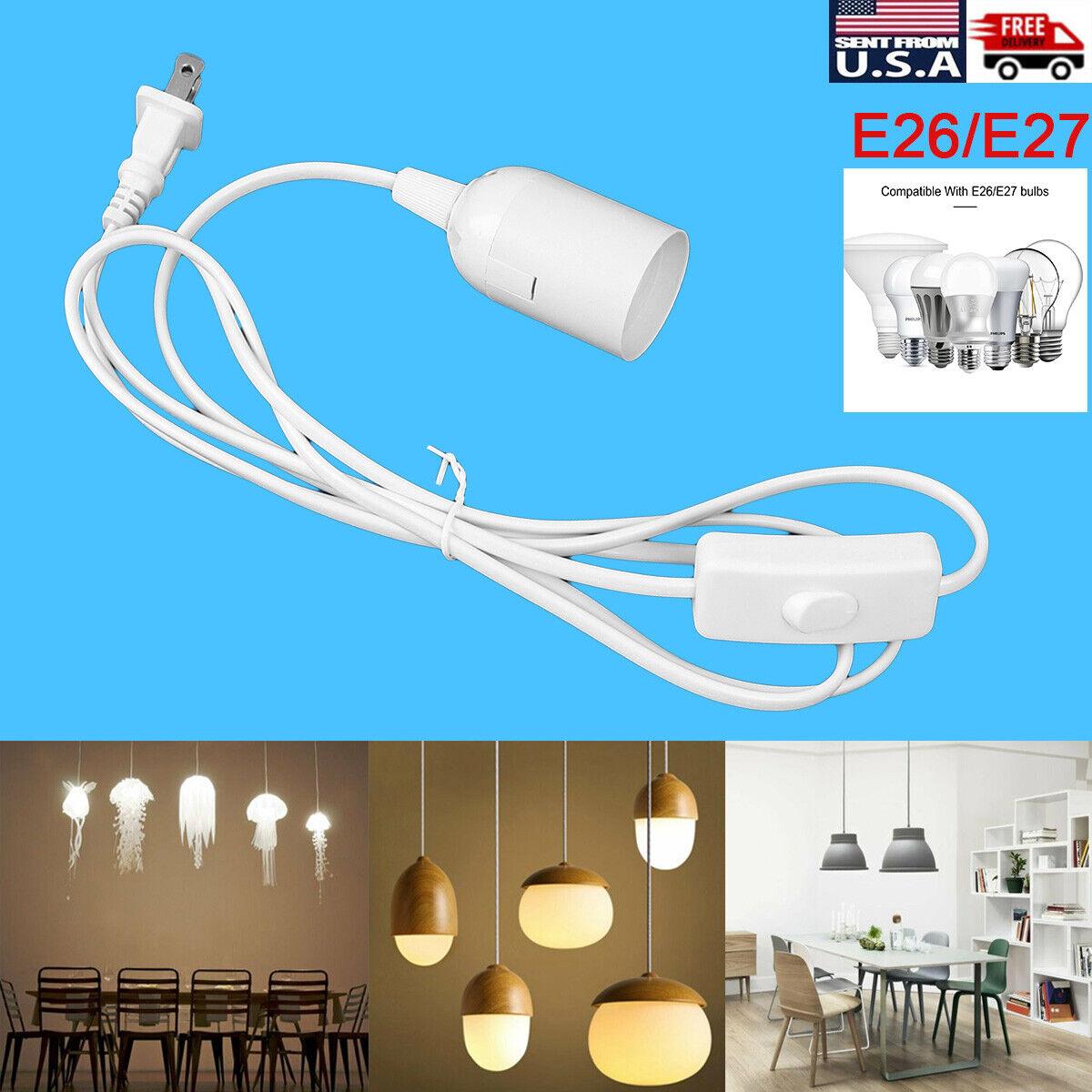 E26 E27 Bulb Socket Extension Hanging