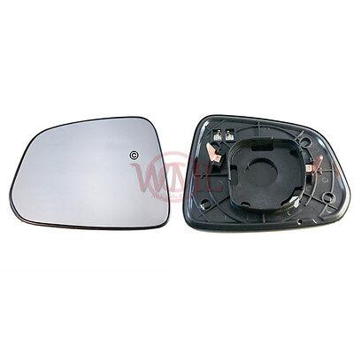 Vauxhall Antara 2006-2015 left passenger near side convex mirror glass 568LS