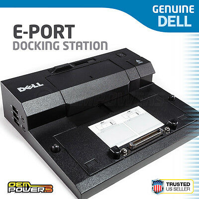 Dell Latitude E Port Docking Station PR03X E6330 E6400 E6410 E6420 E6430 E5400