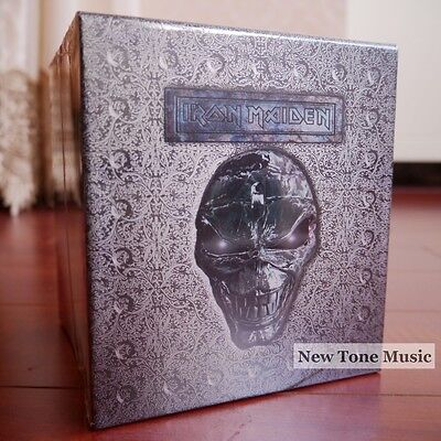 "NEW SEALED! Iron Maiden ""The Album Collection"" 12 Albums/15 Enhanced CD Box Set"