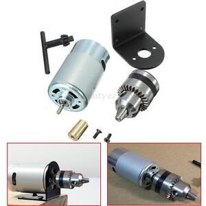 5V-12V Mini Hand Drill Micro Drill DIY Component Drill Chuck 555 Motor Seat Tool