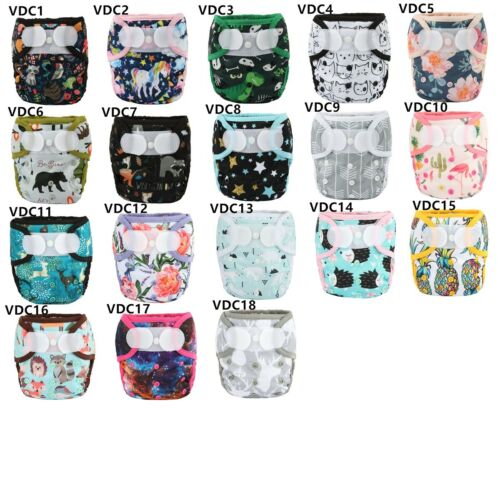 U PICK Baby Hook Loop Diaper Cover Nappy Flat Pilcher One Size
