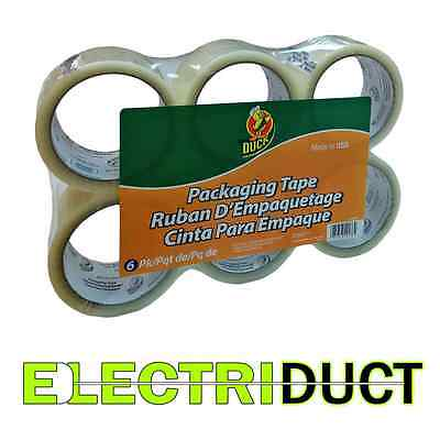 Standard Packaging Tape - 1.88 X 54 Yd - 6 Pack - Duck Tape