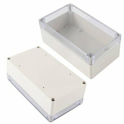 1pc Waterproof Case Clear Cover Plastic Diy Electronic Project Box 158x90x60mm