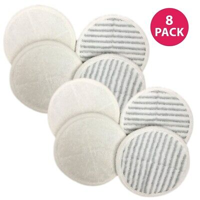 8 Replacement Bissell Spinwave Mop Pads 13122 13129 13151 13139 Part 2124
