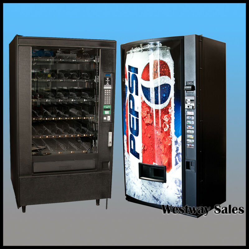 Dixie Narco Single Price and National 147 Vending Machine Bundle FREE SHIPPING