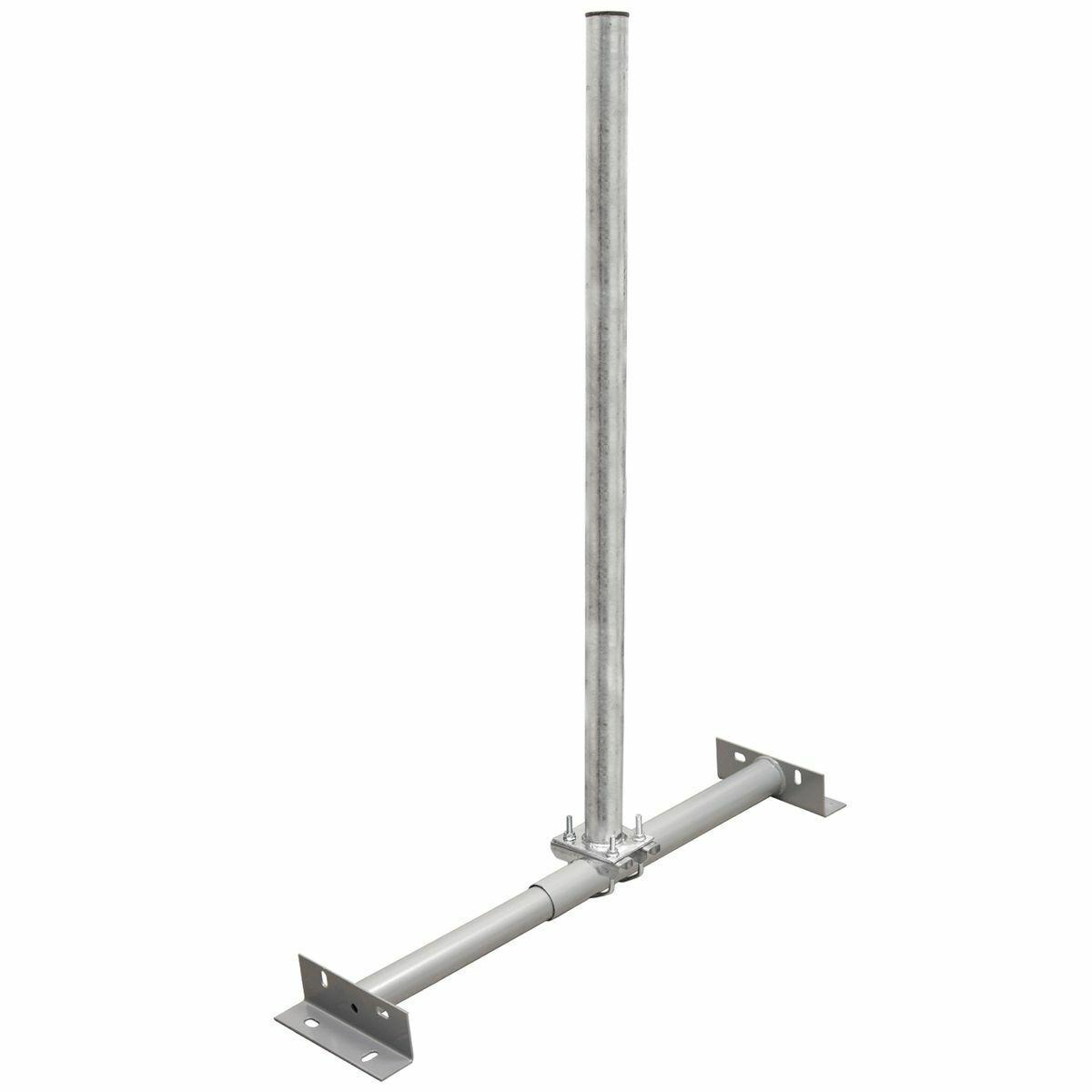 Dachsparrenhalter 100cm Mast 1m Dach Montage SAT Schüssel Spiegel Antenne Halter