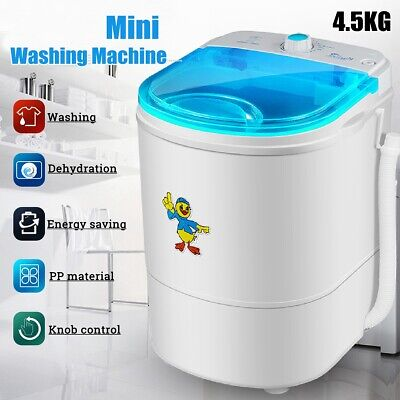 Portable Washing Machine 10LBS Laundry Wash RV Camping Mini Small Easy Operate for sale  Shipping to Nigeria