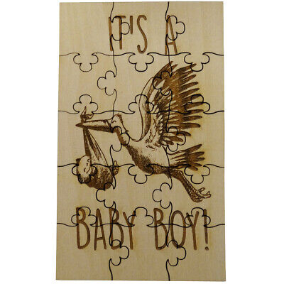 It's a Baby Boy Gender Reveal Puzzle - Surprise Jigsaw Pregnancy Announcement