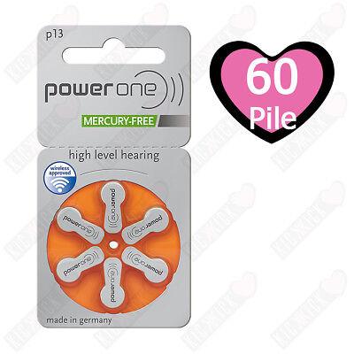 60 pile Power One P13 - PR48 (Arancio) MERCURY FREE - Batterie - Sordità 13, usato usato  Samarate