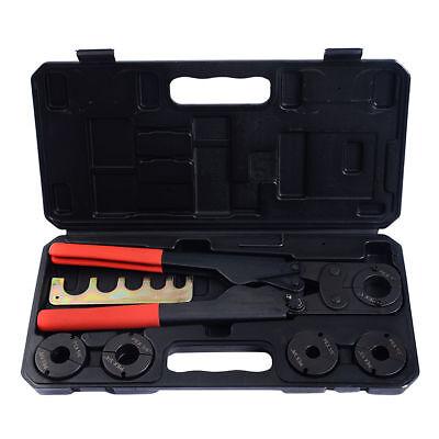 5 In 1pex Crimper Copper Ring Crimping Plumbing Tool Set 38 12 58 34 1