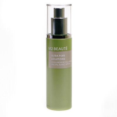 M2 Beaute Ultra Pure Solutions 75ml Hyaluron & Collagen Facial Nano Spray
