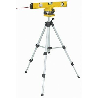 """16"""" Laser Level with Swivel Head Tripod & Case Included 360 Degrees Rotation"""