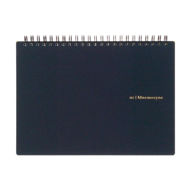 Maruman Mnemosyne N182A A5 Spiral Notebook - Graph