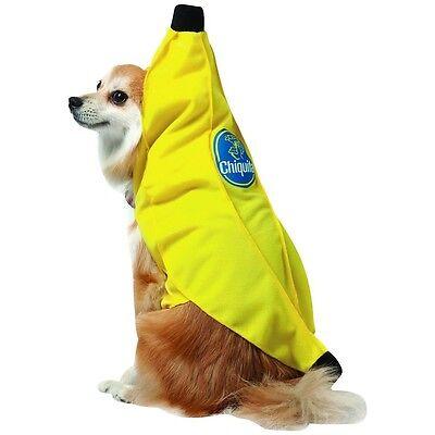 Chiquita Banana Dog Costume Pet Halloween Fancy Dress