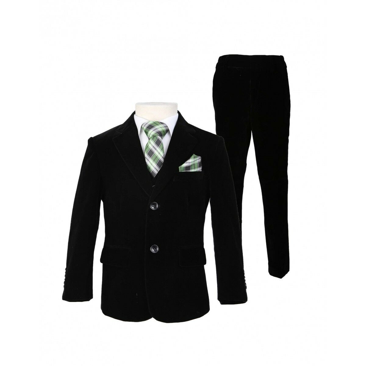 Garçons costume noir garçons costumes de garçons cheap costume 5 Piece Costume De Mariage Pageboy baby