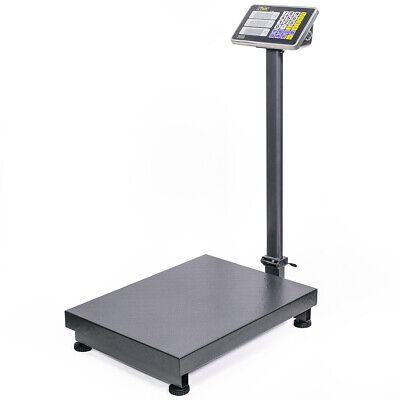 600lb Weight Computer Scale Digital Floor Platform Shipping Warehouse Postal