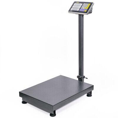 600lb Weight Computer Scale Digital Floor Platform Shipping Warehouse Postal