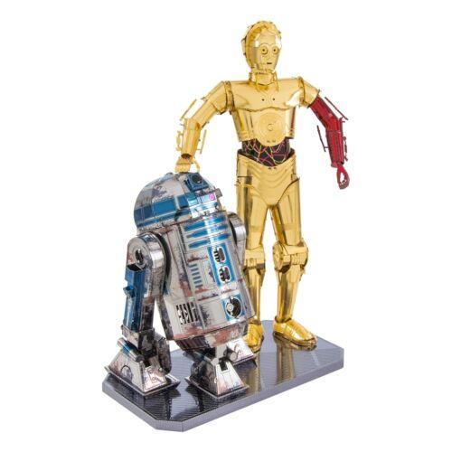 Metal Earth 3D Laser Cut Steel Model Kit Star Wars C-3PO & R