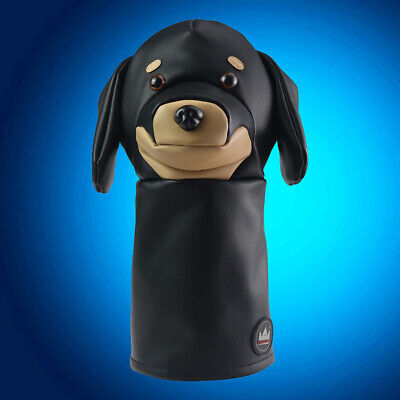 Black Animal Driver Headcover Dachshund for Taylormade Aeroburner M3 Callaway US