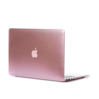 13,3 Zoll Macbook Air 2017 Schutzhülle Case Hard Cover Schale Etui in Rose Gold ()