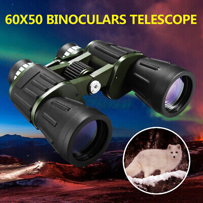 60x50 Night Vision Military Army Zoom Powerful Binoculars Optics Hunting