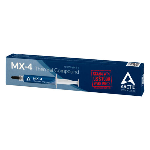 Arctic MX-4 2020 Edition 8g High Performance Thermal Compound Paste ACTCP00008B