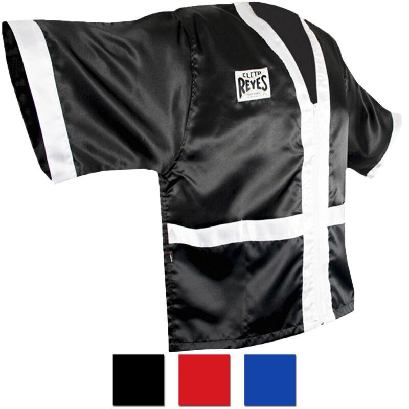 Cleto Reyes Corner Staff Satin Boxing Robe
