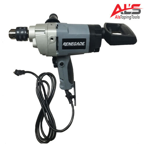 Renegade 1/2 inch Spade Drywall Mud Mixing Drill RGDSHD12 **NEW**
