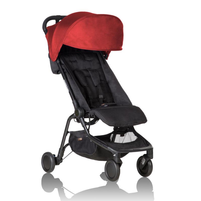 Mountain Buggy 2019 Nano Stroller, Ruby NEW! [open box]